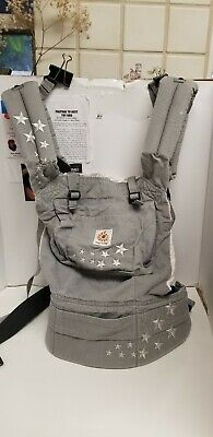 Ergo Baby Carrier Original, Gray 100% Cotton