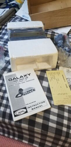VINTAGE CB RADIO GALAXY COURIER 40 CH AM SSB NEW. Buy it now for 350.00