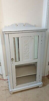 Old Vintage  Small Painted  Cabinet