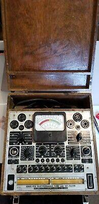 Ww Rare Vintage Precision Apparatus Electronamic Tube And Set Tester Series 920