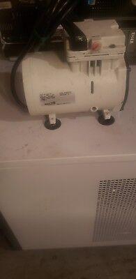 Welch Wob-l Pump 2522b-01 Laboratory Vacuum Pump Tested Working