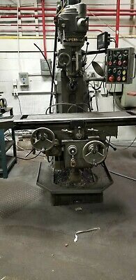 Supermax Ycm Vertical Mill Milling Machine 9 X 42 Dro 2 Hp Bridgeport Style Nice