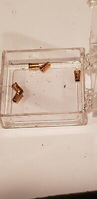 Hp 1250-0907 Lot Of 5 Inner Conductor Contact For Apc7 Connectors