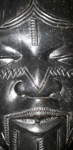 Rare Makonde portrait figure - Mozambique, antique sculpture