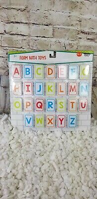 ABC's 26 ct Foam Bath Toys For Toddlers Preschool Learning  3+
