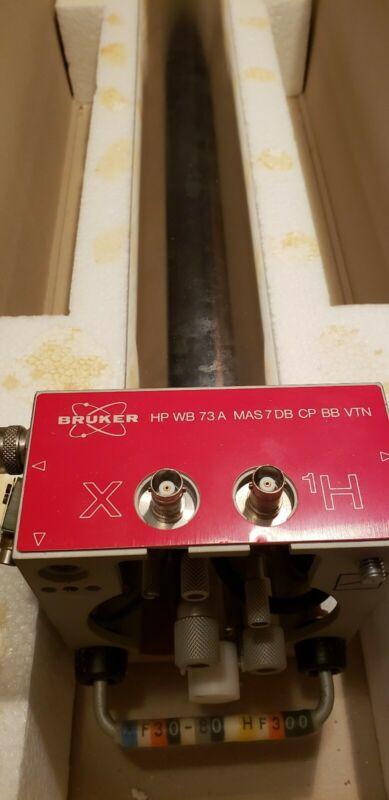 Bruker 300 MHz WB HP 73 A MAS 7 DB CP BB VTN Solids NMR Probe