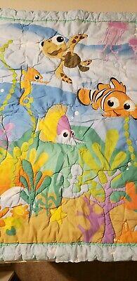 Disney Finding Nemo Dory Baby Infant Crib Bedding 2 pc Sheet & Comforter Set
