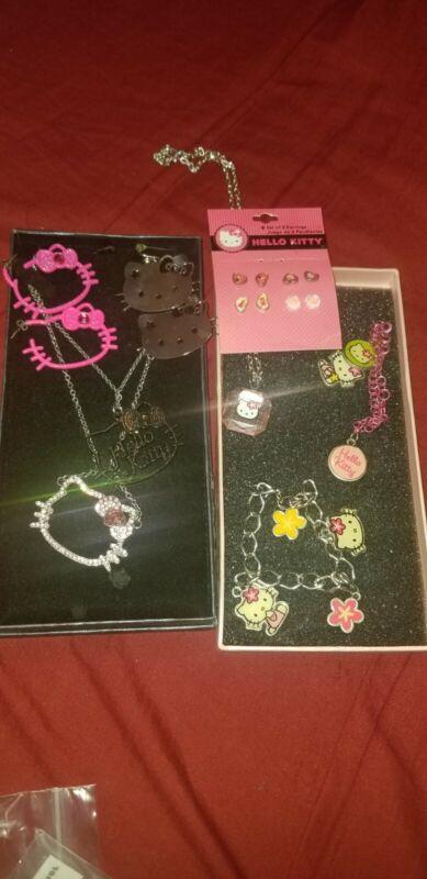 Hello kitty jewelry 9piece Lot