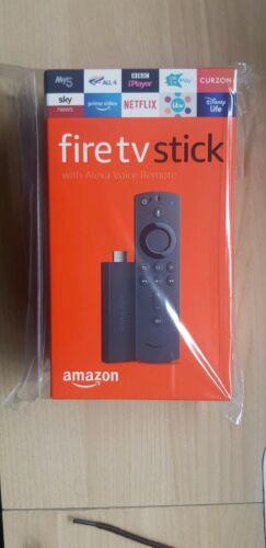 3 x Amazon Fire TV Sticks. All New Alexa Voice Remote, Brand New Unopened