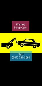 Cash for Cars TEXT 647.781.3094 Quick Pickup
