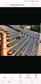 Wanted: Removal and disposal of solar pool heating panels