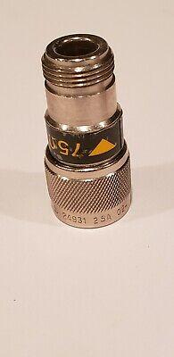 Hpagilent 1250-0597 50-75 Ohm Mechanical Adapter