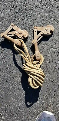 2 Vintage Western Electric No 1 Cable Puller Wire Stretcher Buffalo Grip Usa