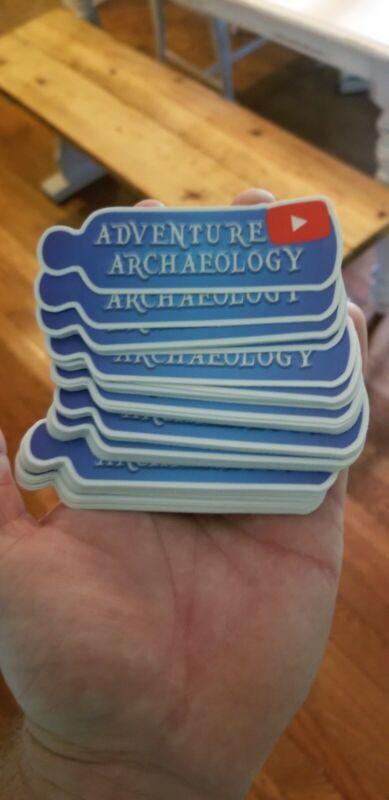 Adventure Archaeology Sticker