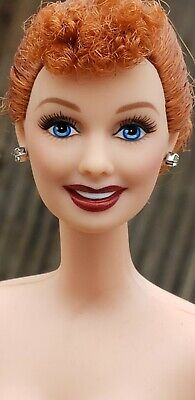 BARBIE I LOVE LUCY 50TH ANNIVERSARY DOLL - EPISODE 50 NUDE CELEBRITY REDHEAD