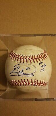 Autographs-original Self-Conscious Derek Holland Chicago White Sox Signed Autographed Romlb Baseball Mlb Auth