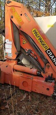 2007 Palfinger Pk 15500 Knuckle Boom Crane