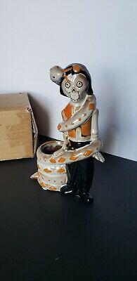 Yankee Candle 2019 Halloween Boney Bunch Snake Charmer Votive Candle Holder new