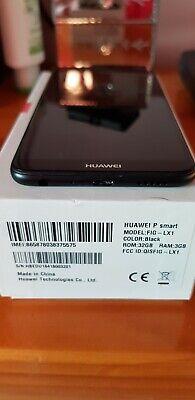 Huawei P Smart phone 32GB Network locked Vodafone Black.