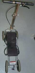 knee scooter for leg injuries, beats crutches