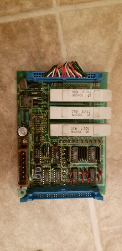 Fanuc PCB Circuit Board, # A20B-0007-0750 / 03B