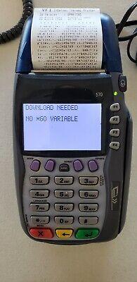 Verifone Vx570 Credit Card Terminal Vx 570 Omni 5750 M257-050-02-na1