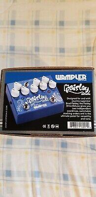 Wampler paisley Drive Deluxe