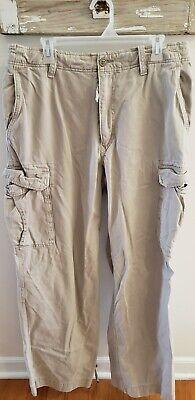 Abercrombie & Fitch khaki Cargo Pants Size 34L