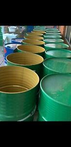 Steel open top food grade containers drums