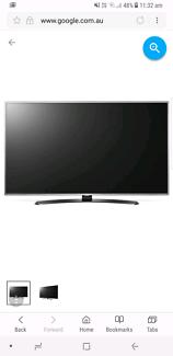 "Lg uhd 4k 65"" smart tv ((damaged))"