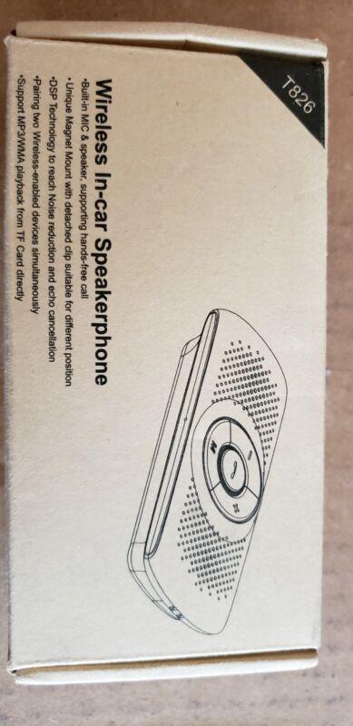 Wireless in Car Handsfree Speakerphones - Portable Bluetooth