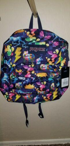 Jansport Superbreak Rainbow Mania Unicorn Backpack Multi Col