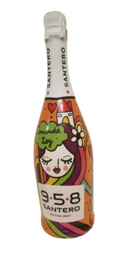 SANTERO 958 AMANDA TOY RAINBOW 1 BOTTIGLIA 75 CL PROSECCO WINE MADE IN ITALY