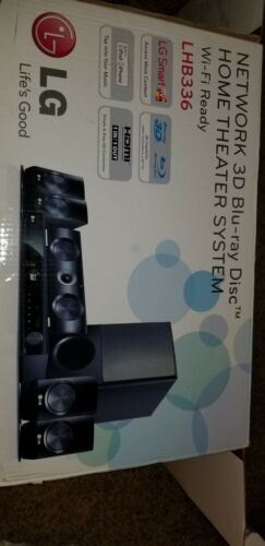 LG Electronics LHB336 1100W Blu-Ray Home Theater System With Smart TV - $174.50