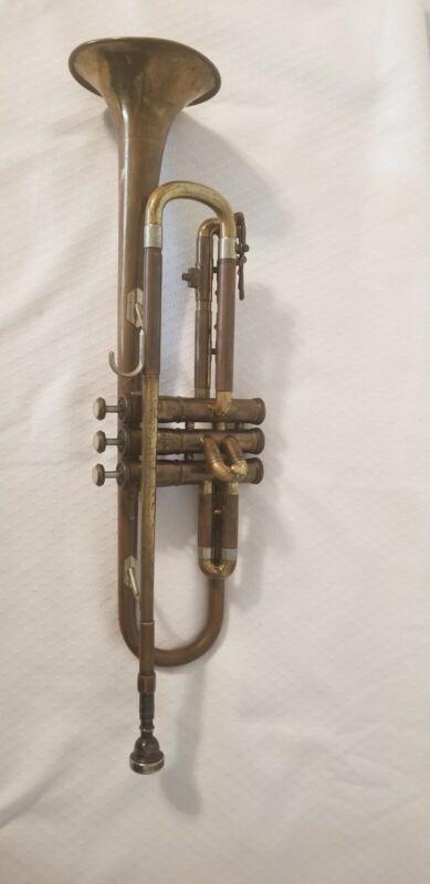 Vintage Old Ambassador Trumpet