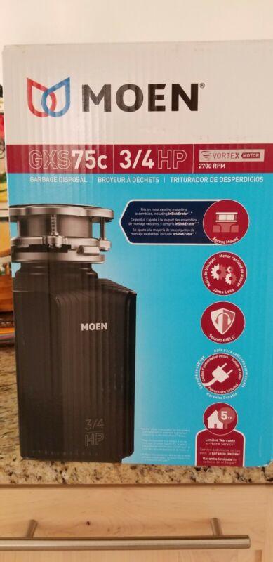 Moen GXS75C Garbage Disposal - 3/4 HP SoundShield, New in Box