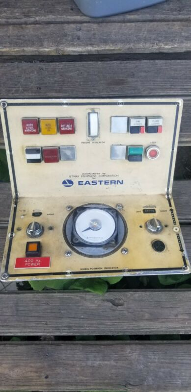 Eastern airlines collectibles-Loading ramp control  panel