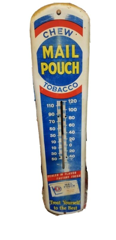 Nice Mail Pouch Chewing Tobacco Thermometer