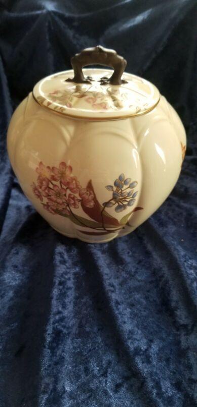 Vintage royal worcester Cracker Jar