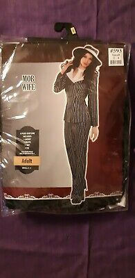 Mob Halloween Costumes (Mob Wife Halloween Costume/ Cosplay NIP Size)