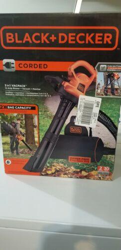 Black & Decker Leaf Blower, Vacuum and Mulcher BEBL7000 3 in