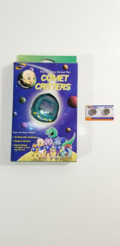 """Comet Critters Cosmic Virtual Pet 1997 by NYKO """"Kid Comet"""" Character NIB Vintage"""