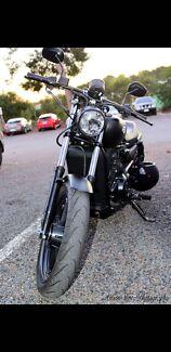 Custom500 street Harley low kms 2016 urgent lams