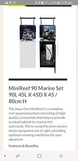 aqua one 90 liter marine tank