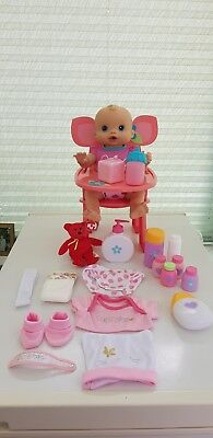 Hasbro Rare Baby Alive Whoopsie Doo 2006 Doll  Bundle  for sale  Shipping to Ireland