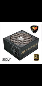 Cougar GX800 V3 800W 80+ Gold Modular Power Supply BRAND NEW Blacktown Blacktown Area Preview