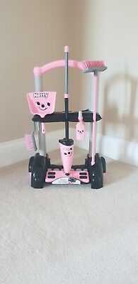 PINK HETTY CLEANING TROLLEY FOR CHILDREN, used for sale  Rainham