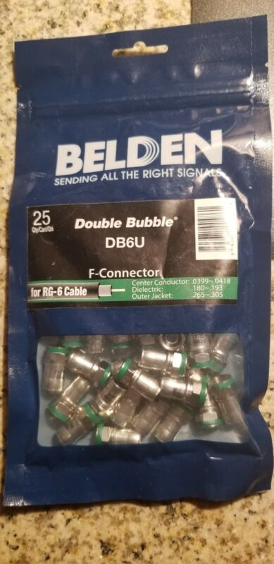 Belden DB6U F-connector