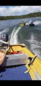 Boat 4.1m quintrex with a yamaha 30hp