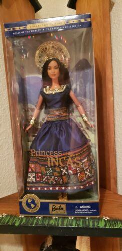 2000 Dolls Of The World Princess Of The Incas Barbie NRFB  - $40.00